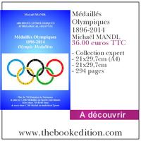 Le livre Médaillés Olympiques 1896-2014