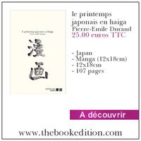Le livre le printemps japonais en haiga
