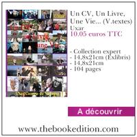 Le livre Un CV, Un Livre, Une Vie... (V.textes)