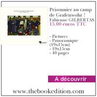Le livre Prisonnier au camp de Grafenwohr !
