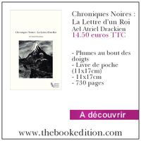 Le livre Chroniques Noires : La Lettre d\'un Roi