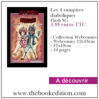 Le livre Les 4 vampires diaboliques