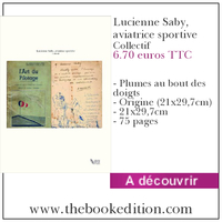 Le livre Lucienne Saby, aviatrice sportive