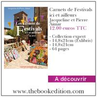 Le livre Carnets de Festivals ici et ailleurs