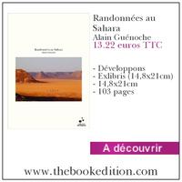 Le livre Randonnées au Sahara