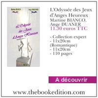 Le livre L\'Odyssée des Jeux d\'Anges Heureux