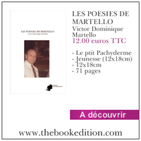 Le livre LES POESIES DE MARTELLO