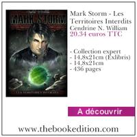 Le livre Mark Storm - Les Territoires Interdits