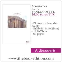 Le livre Acrostiches