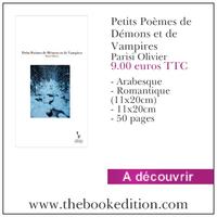 Le livre Petits Poèmes de Démons et de Vampires