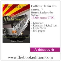 Le livre Coffiots : la fin des casses...?