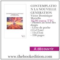 Le livre CONTEMPLATION LA NOUVELLE GENERATION