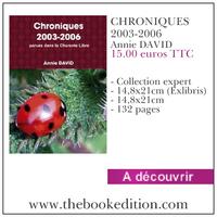 Le livre CHRONIQUES 2003-2006