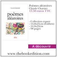 Le livre Poèmes aléatoires