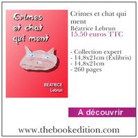 Le livre Crimes et chat qui ment