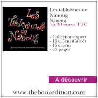 Le livre Les tabloèmes de Nanoug