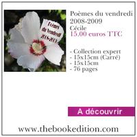 Le livre Poèmes du vendredi 2008-2009