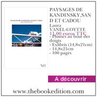 Le livre PAYSAGES DE KANDINSKY,SAND ET CADOU