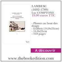 Le livre LAMBESC (1692-1789)