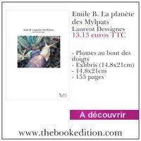 Le livre Emile B. La planète des Mylpats