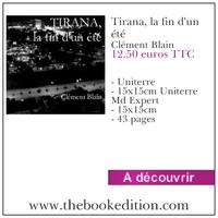 Le livre Tirana, la fin d\'un été