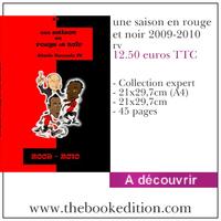 Le livre une saison en rouge et noir 2009-2010