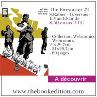 Le livre The Firestarter #1