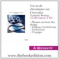 Le livre Un an de chroniques sur Cinerama