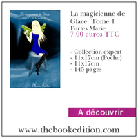 Le livre La magicienne de Glace  Tome 1