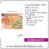 Le livre L\'ALPHABET DES FRUITS ET LEGUMES
