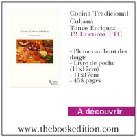 Le livre Recetas Cocina Cubana