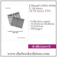 Le livre L\'Hautil (1924-1938)