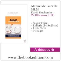 Le livre Manuel de Guérilla MLM