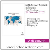 Le livre SQL Server Spatial - memento