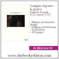 Le livre Vampire légende : la genèse