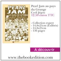 Le livre Pearl Jam au pays du Grunge