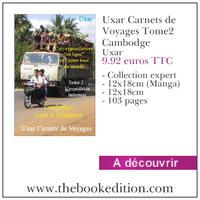 Le livre Uxar Carnets de Voyages Tome2 Cambodge