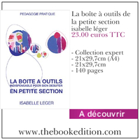 Le livre La boîte à outils de la petite section