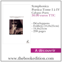 Le livre Symphonica Poetica-Tome I à IV