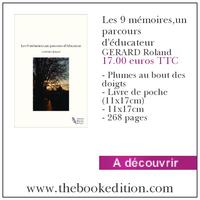 Le livre Les 9 mémoires,un parcours d\'éducateur_ GERARD Roland