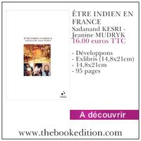 Le livre ÊTRE INDIEN EN FRANCE