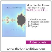 Le livre Mon Gambit Evans
