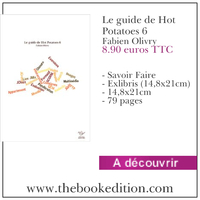 Le livre Le guide de Hot Potatoes 6