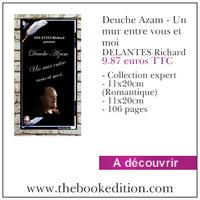 Le livre Deuche Azam - Un mur entre vous et moi