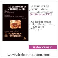 Le livre Le tombeau de Jacques Molai