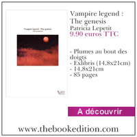 Le livre Vampire legend : The genesis