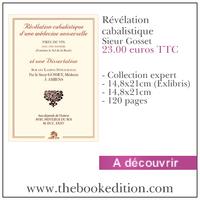 Le livre Révélation cabalistique
