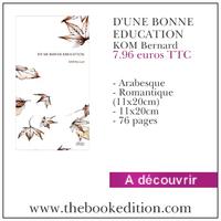 Le livre D\'UNE BONNE EDUCATION