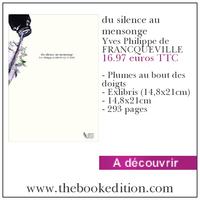Le livre du silence au mensonge