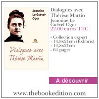 Le livre Dialogues avec Thérèse Martin